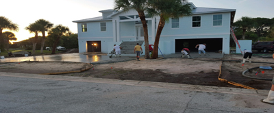 Concrete contractors in Placida