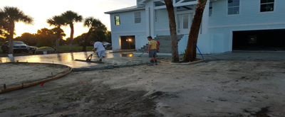 Concrete contractors in Venice
